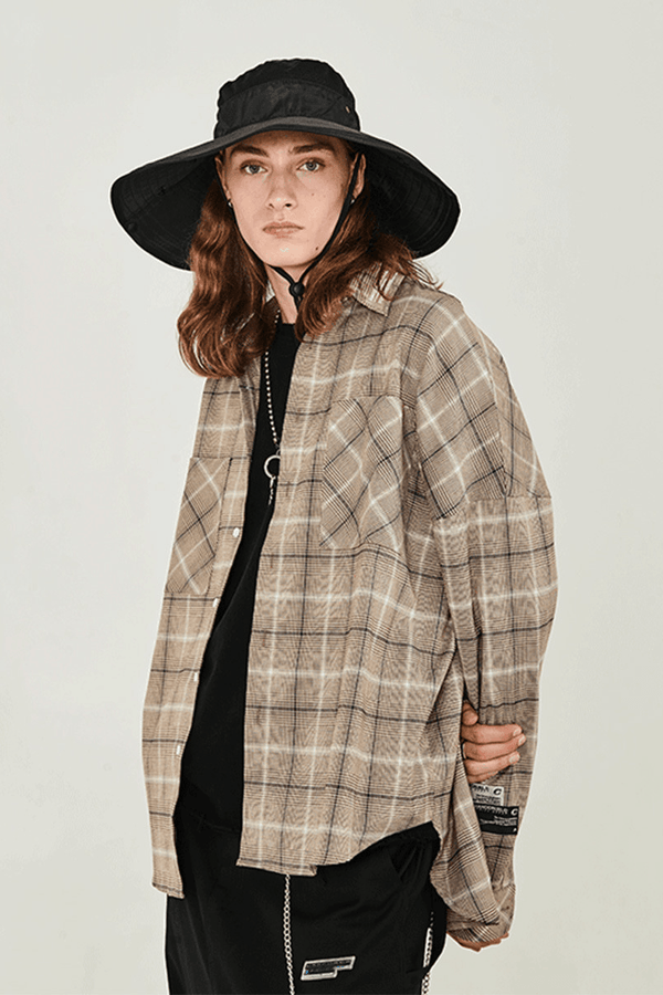 H/C Vintage Plaid L/S Shirt