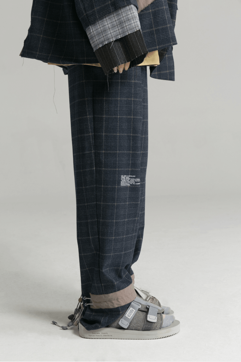 BLIND Structure Trousers