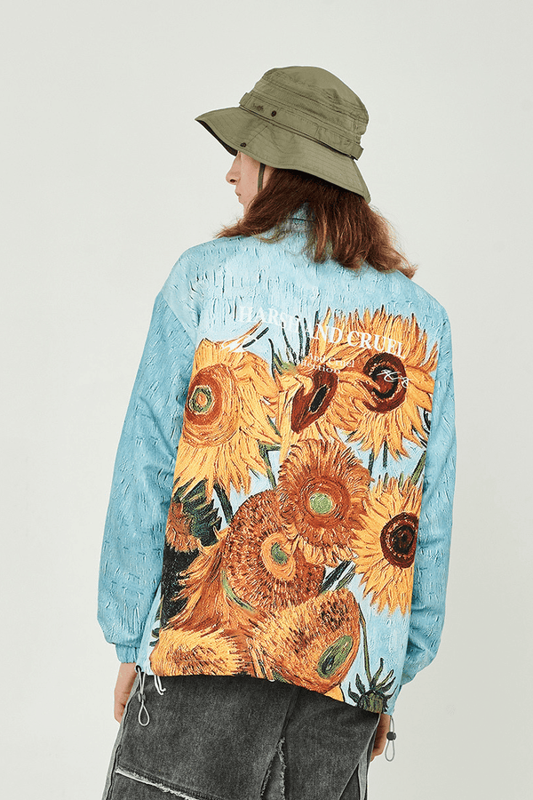 H/C Sunflower Coach Jacket