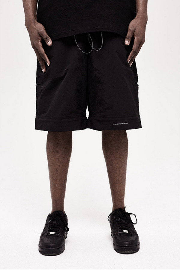 STEEPC Detachable Logo Pants