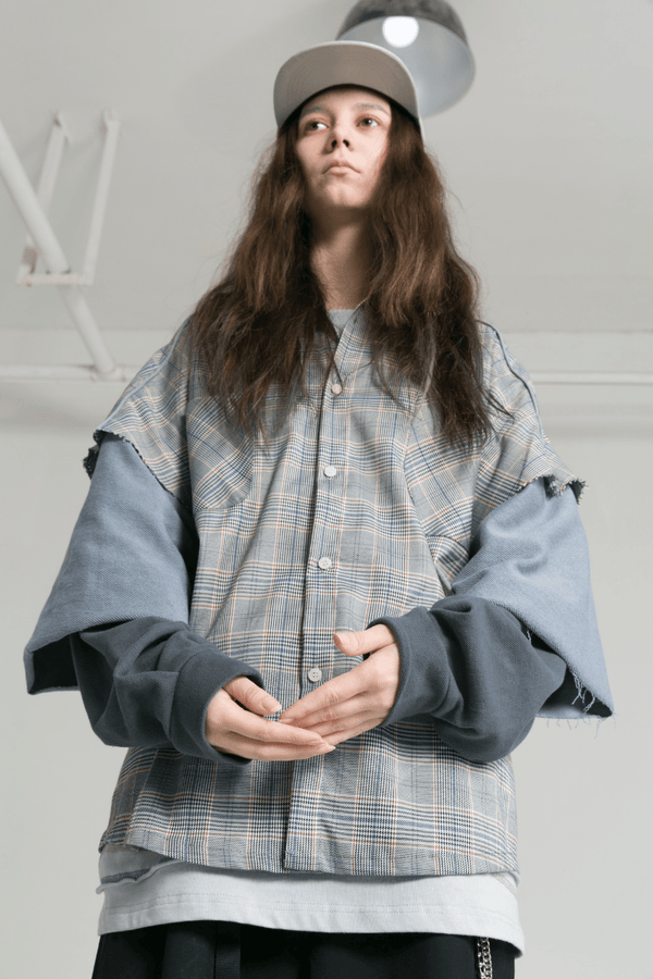 BLIND Multi Layer Shirt Jacket