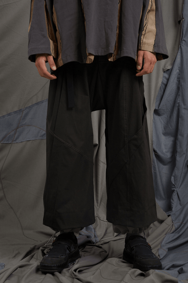 BLIND Two Layers Structure Pants
