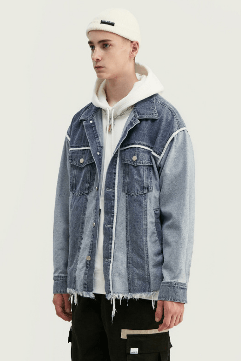 CZ Vintage Loose Denim Jacket