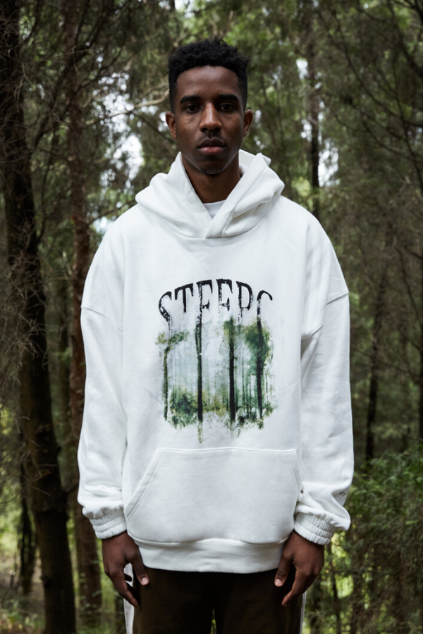 STEEPC Forest Logo Loose Hoodie