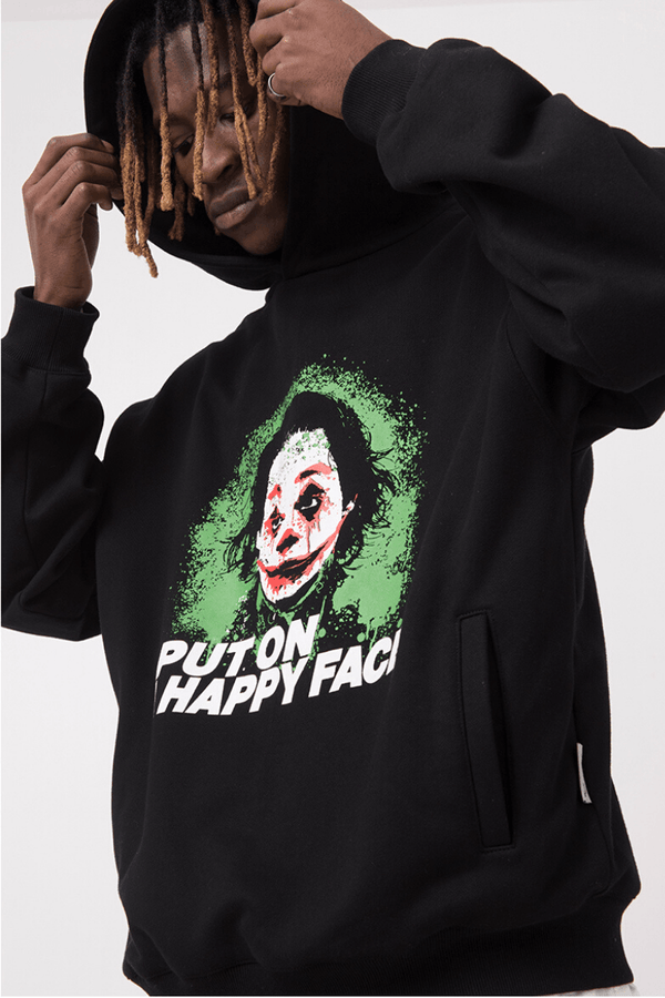 Empty Reference Happy Face Hoodie