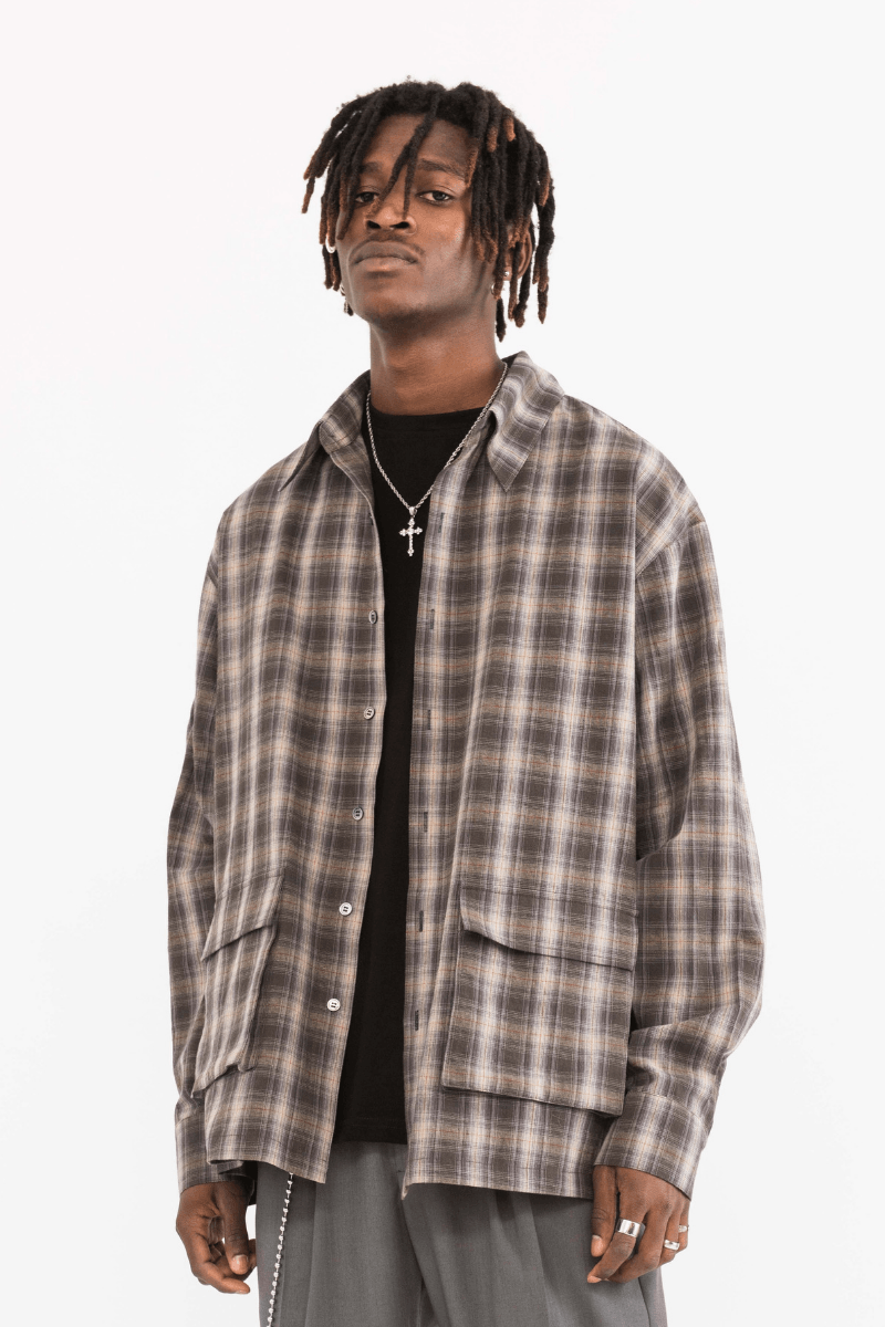 CZ Checkered L/S Shirt