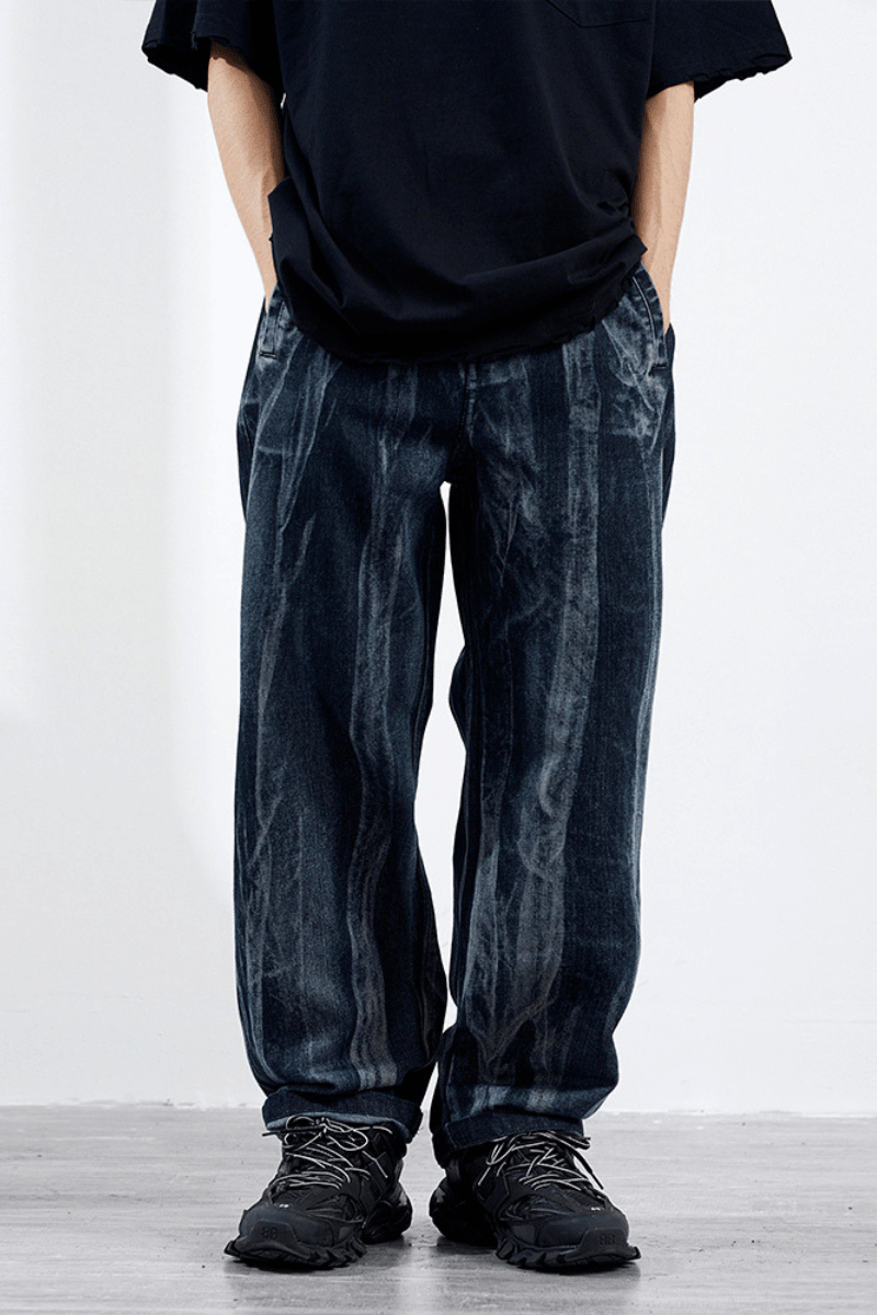 CZ Dark Dyed Loose Denim