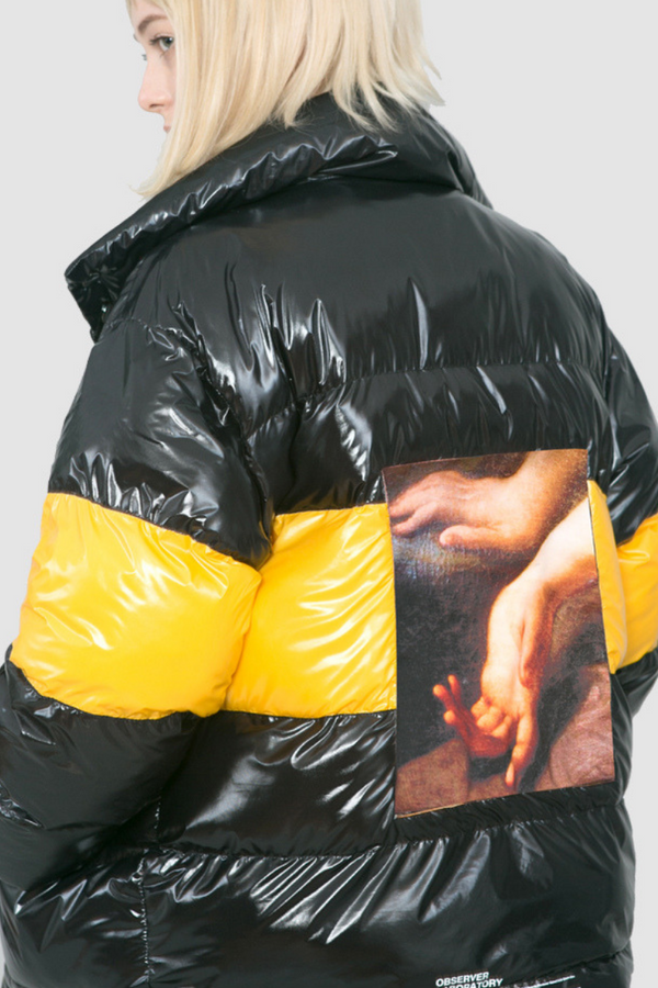 Observer Lab Reversible Glossy Jacket