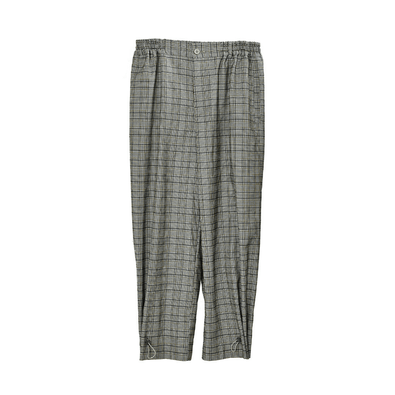 H/C Adjustable Plaid Pants
