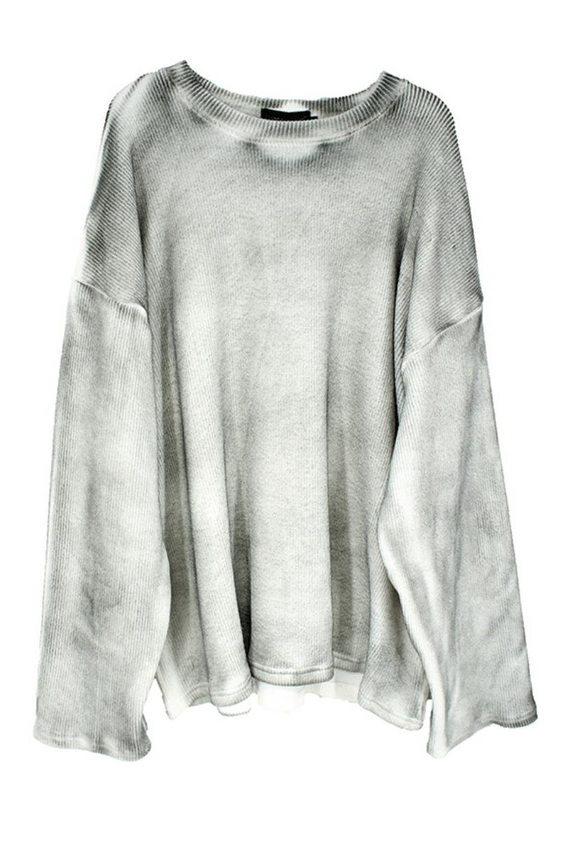CZ Loose Washed Sweater