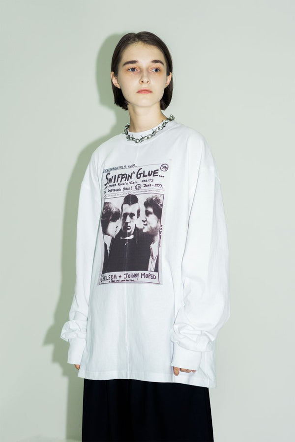 Unknown World Sniffin' Glue Printed L/S Tee