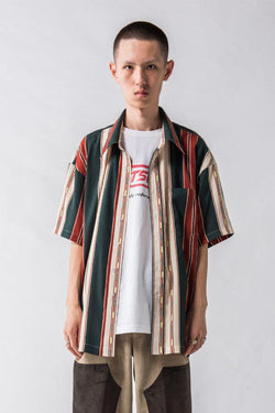 Empty Reference Striped S/S Shirt