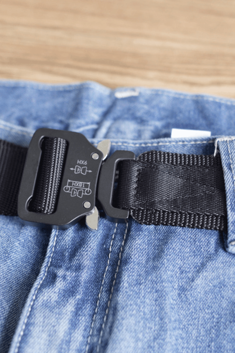 CZ Metal Buckle Quick Release Military Belt
