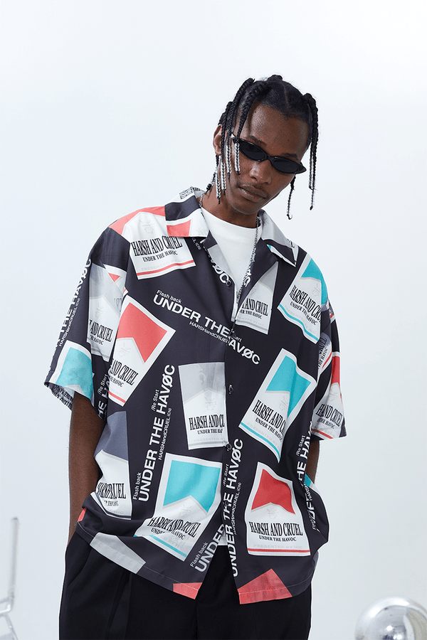 H/C Retro Cigarette S/S Shirt