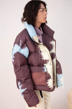 Mix7 Painted Down Jacket