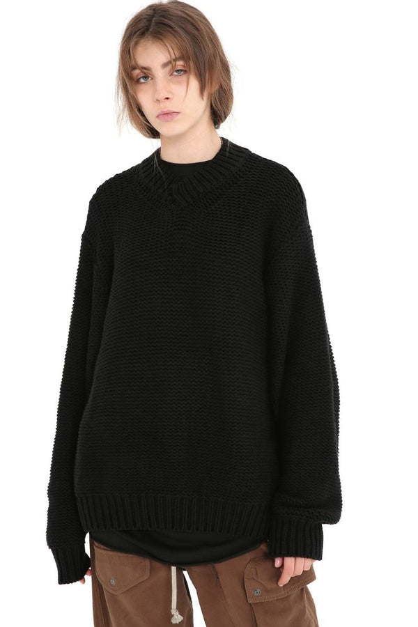 Unknown World Stitched Knit Sweater