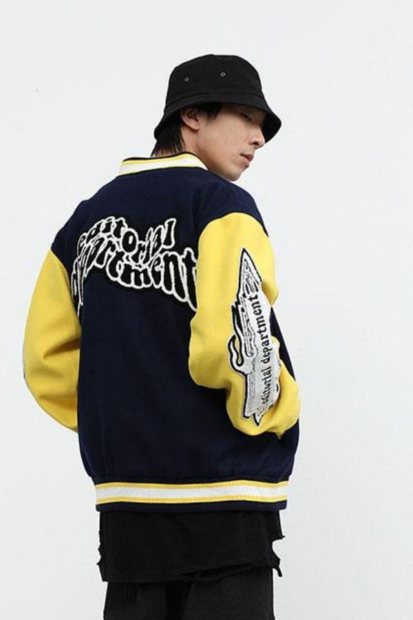 CZ ED Patch Baseball Jacket