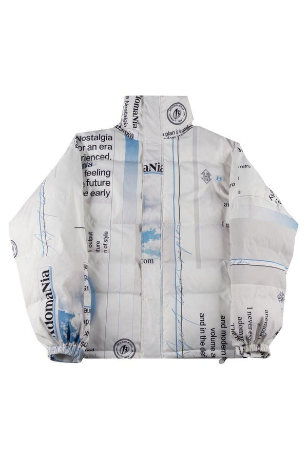 BLIND Adomania Printed Down Jacket