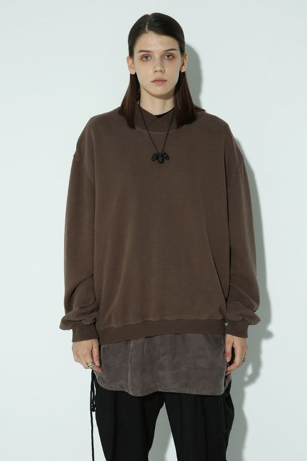 Unknown World Washed Stitched Sweater