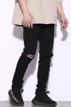 coppingzone Distressed Jeans Black S/30