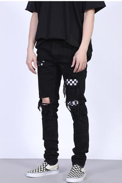 coppingzone og Checkered Jeans S/30
