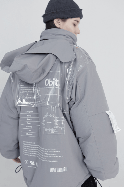Harsh & Cruel Reversible Jacket Dark Grey / S