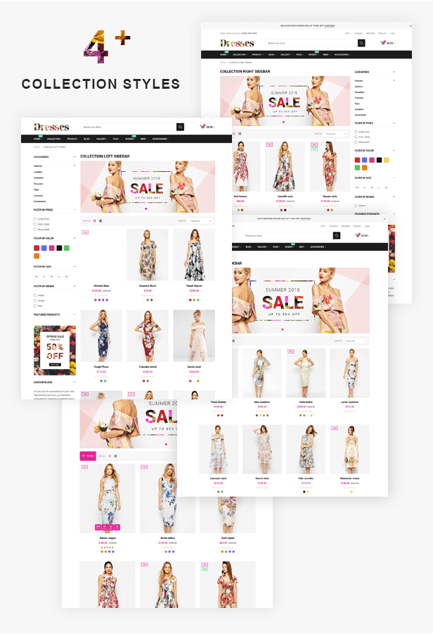 Dresses Collection Page