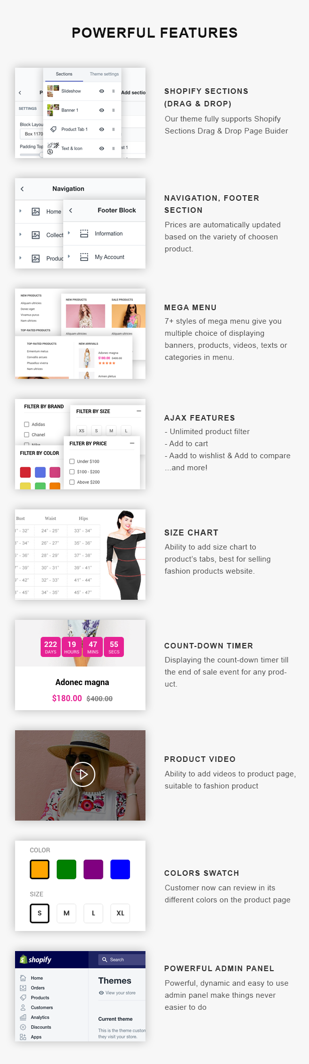 Dresses - Responsive, Drap & Drop Shopify Theme