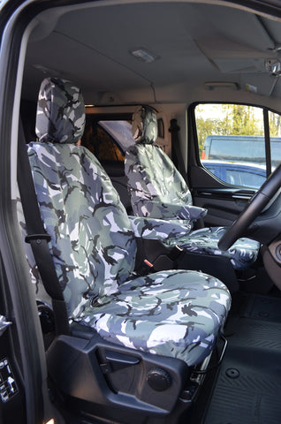 Ford Transit Front Pair Van Seat Covers