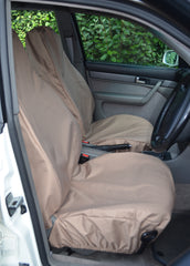 Beige Universal Large Seat Covers
