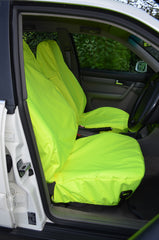 Yellow Large Universal Seat Covers