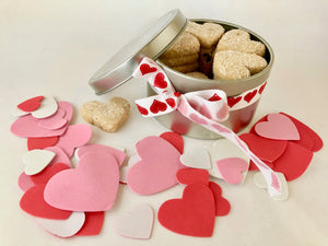 Valentine's Day - Heart-Shaped Mexican Cookies