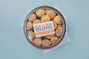 Cookie Tin - Sprinkled Shortbread (Sprinklez)