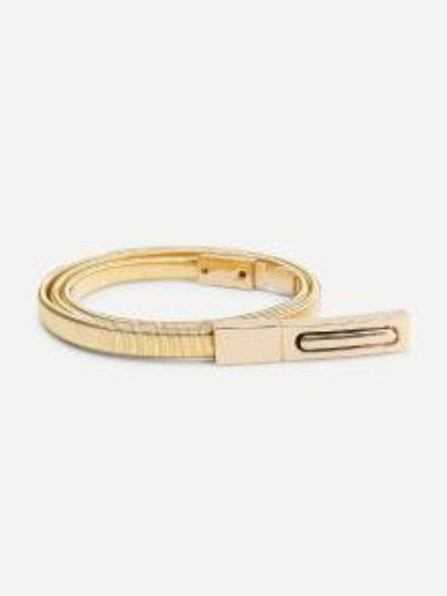 Sonia Sleek Gold Belt - UberStyleWoman