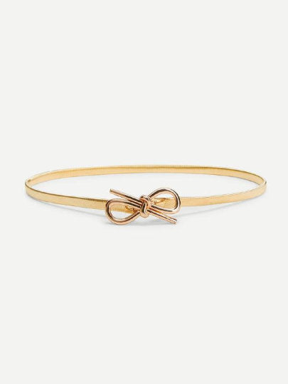 Savannah Knotted Gold Belt - UberStyleWoman