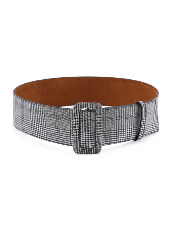 Winston Plaid Buckle Belt - UberStyleWoman
