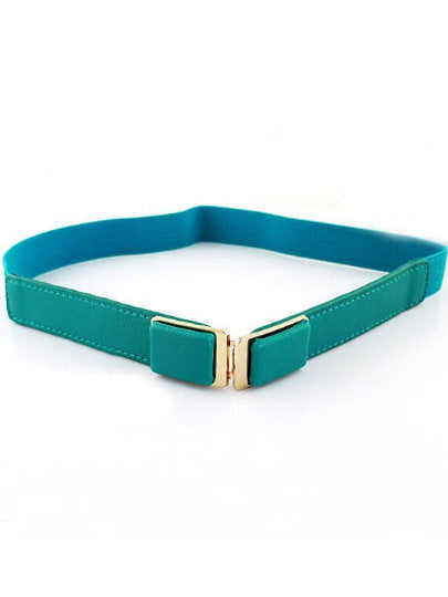 Francesca Green Buckle Belt - UberStyleWoman