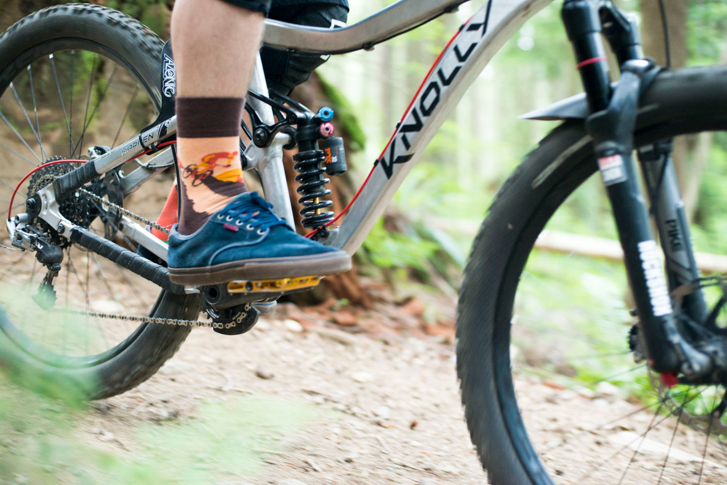 Bikers | Colourful Mismatched Funny Socks | King Stone | Canada