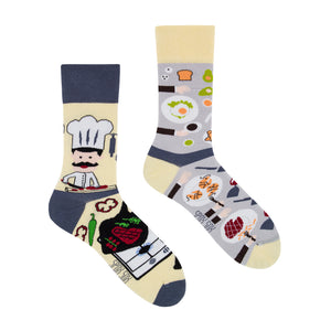 Restaurant | Colourful Mismatched Funny Socks | King Stone | Canada