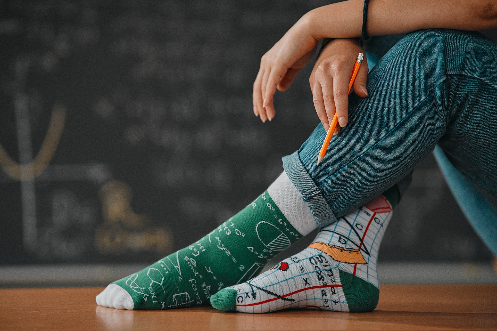 Back to School | Colourful Mismatched Funny Socks | King Stone