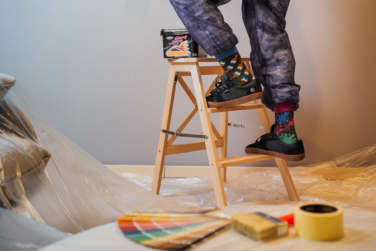 Painting | Colourful Mismatched Funny Socks | King Stone | Canada