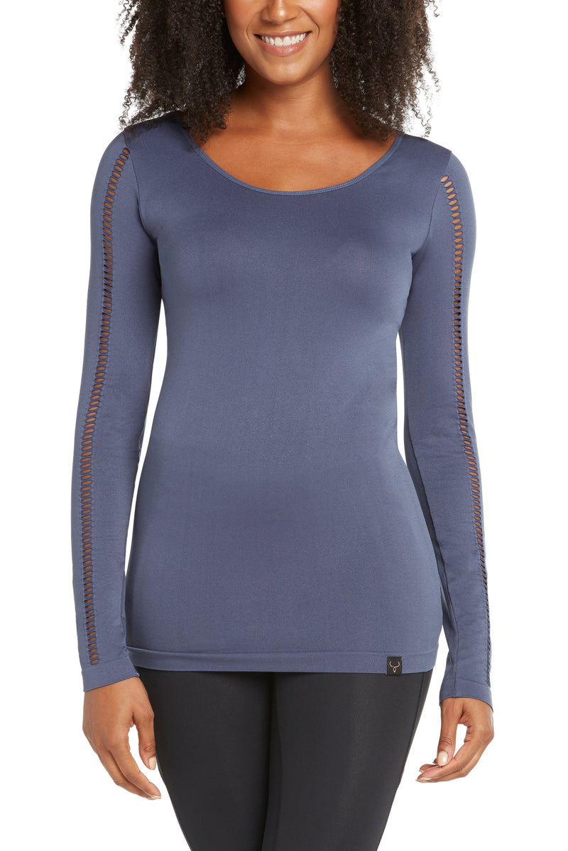 Aurora Long-Sleeve Women's Yoga Top