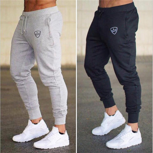 73f292f0989 Mens Gym Wear. 2018 Autumn Brand Gyms Men Joggers Sweatpants Men Joggers  Trousers Sporting Clothing The high quality Bodybuilding