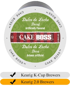 Cake Boss Dulce de Leche DECAF Coffee Cups (24) | Beanwise