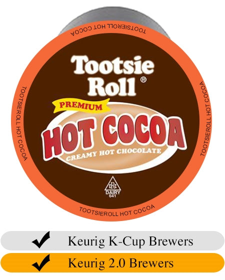 Tootsie Roll Hot Cocoa K-Cups (24) | Beanwise
