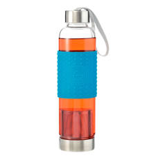 Grosche Marino Tea Infuser Bottle (Blue) | Beanwise