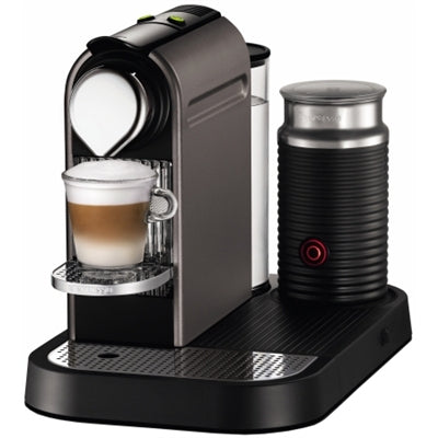 Nespresso Citiz with Milk Frother (Titan Grey) | Beanwise