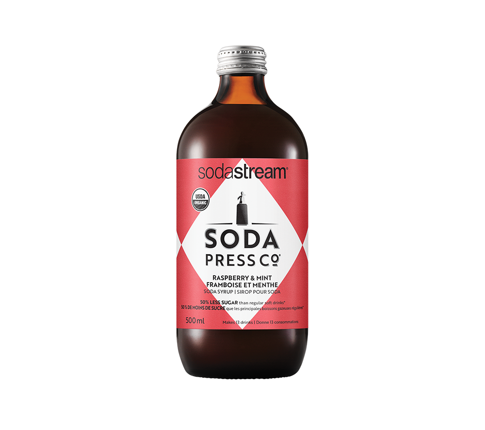 Soda Press Co. Organic Raspberry Mint | Beanwise