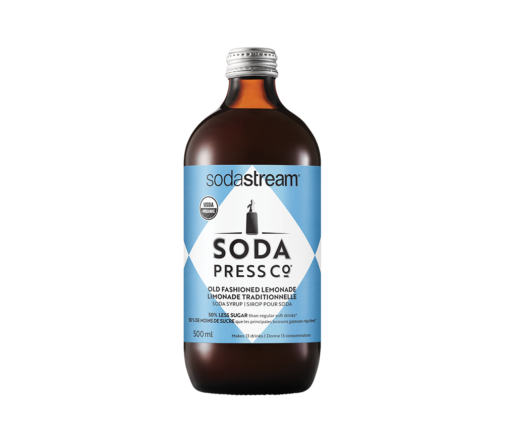 Soda Press Co. Organic Old Fashioned Lemonade