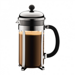 Bodum Chambord French Press (34oz - Stainless Steel) | Beanwise
